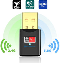 Blueshadow USB  WiFi Adapter - Dual Band 2.4G/5G