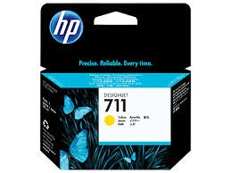 HP 711 - Yellow Orginal Ink Cartridge - 29 ml