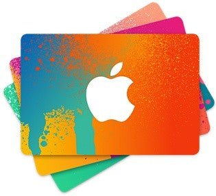 iTunes $100 Gift Cards