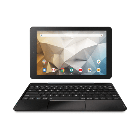 "RCA Atlas 10 Pro 10.1"" Android 2-in-1 Tablet - 2GB / 32GB / Android 9 w/ detachable Keyboard - Charcoal"