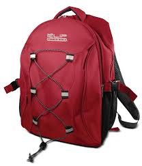 "KlipX Notebook Backpack fits up to 15.4""(KNB-405RD)"