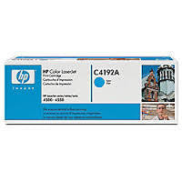 HP Colour LaserJet 4500/4550 Toner Cartridge - Cyan - 6000pgs