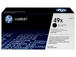 HP 49X High Yield Black Original LaserJet Toner Cartridge (Q5949X)