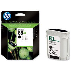 HP 88 Large Black Ink Print Cartridge - 58.9ml