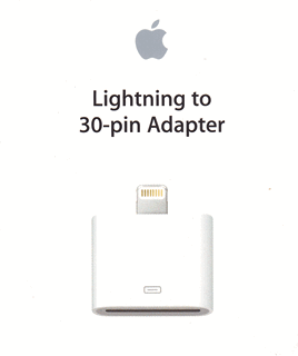 Lightning to 30 pin Adapter