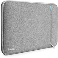 "Tomtoc 360° Protective Sleeve for 15"""" New MacBook Pro 2017 & 2016 - Gray"
