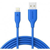 Anker PowerLine Cable Lightning 6FT A8112H31 - Blue