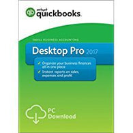 QuickBooks Desktop Pro 2017 Small Business Accounting Software - US Download