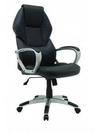 Xtech Manager Montpellier | Executive Office Chair | Black Leather