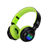 Klip Xtreme KHS-659 LiteBlast On-Ear Bluetooth Headphones w/ Lights & Mic