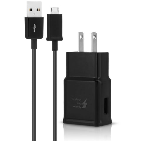 Samsung Travel Wall Adapter w/ 5FT Micro USB Cable - Black
