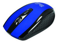 KlipX Optical KMW-340BL Wireless Mouse - Blue