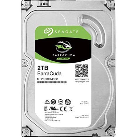 Seagate Barracuda 2TB 7200rpm  Hard Drive