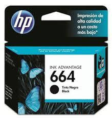 HP 664 Black Ink Cartridge