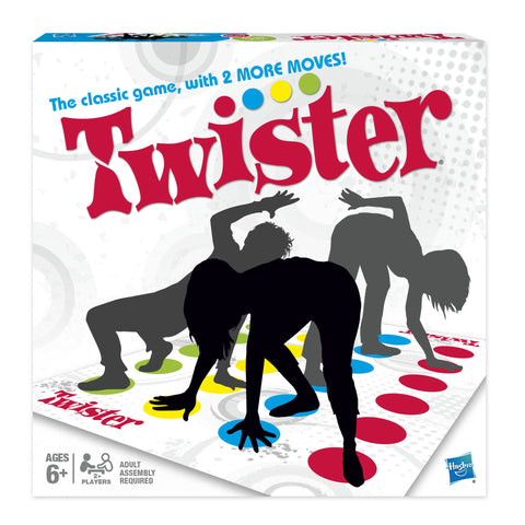 Classic Twister Party Game for Ages 6+