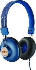 House of Marley Positive Vibration II On-Ear Headphones w/ Mic - Denim