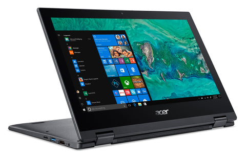 "Acer Spin 1, 11.6"" HD Touch, Intel Pentium Silver N5000, 4GB LPDDR4, 64GB eMMC, Office 365 Personal, Windows 10 S Mode"