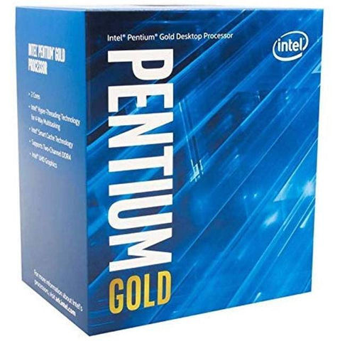 Intel Pentium Gold G6400 Dual-Core Comet Lake Processor 4.0GHz 8GT/s 4MB LGA 1200 CPU