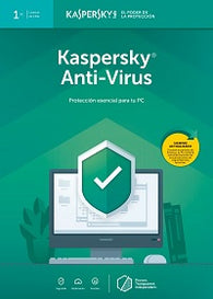Kaspersky Anti-Virus Latin America Edition Single User Desktop Digital Download (1 year)