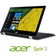 "Acer Spin 3 SP315-51-599E 15.6"" Touchscreen , i5-7200, 12GB, 1TB, W10"