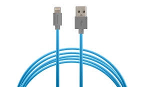 Acellories Lightning to USB 6FT Cable - Blue