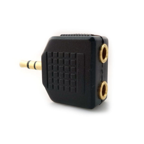 iMexx 3.5 mm Male to Dual 3.5 mm Female  Audio Splitter Adapter