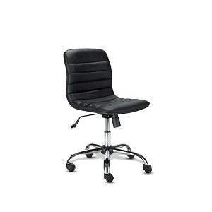 Xtech Manager Chair Black/Chrome with out Arms