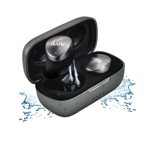 iLuv Bubble Gum Air TWS In-Ear Bluetooth 5.0 Earbuds w/ IPX Waterproof Protection