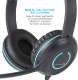 Cyber Acoustics USB Stereo Headset w/ Noise Cancelling Microphone