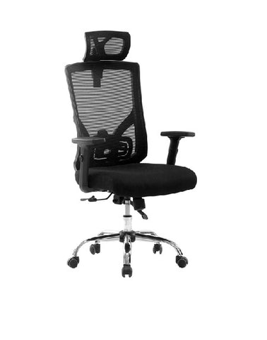 Sit M305 Manager Chair, 5 Functions, Chrome Base