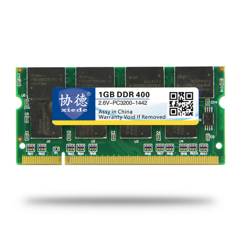 MarkVision 1GB DDR 400 Notebook SO-DIMM Memory
