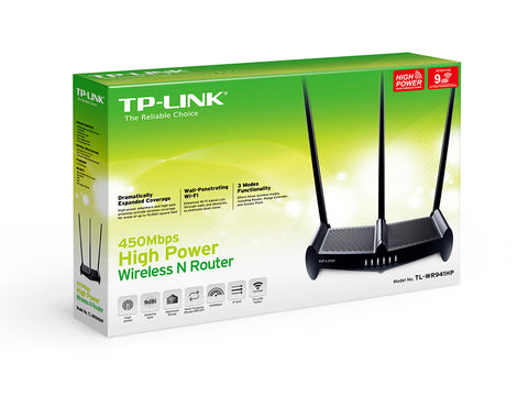 TP-Link TL-WR941HP N450 High Power Wi-Fi Router