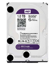 WD Purple 1TB Surveillance Hard Drive 5400 RPM SATA 6 Gb/s 64MB Cache