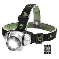 Lighting Ever Headlamp Flashlight w/ 4 Lighting Modes