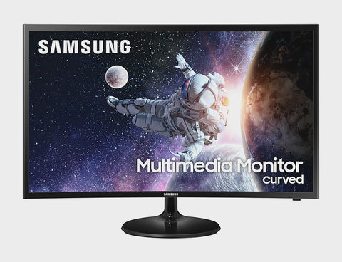 "Samsung 32"" FHD Curved Multimedia Monitor, HDMI, Speakers"