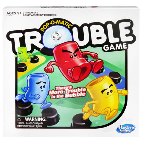 Trouble Board Game for Kids Ages 5+ and Up to 4 Players