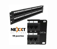 Nexxt Patch Panel Cat5e 48 Port