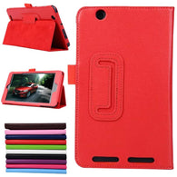 Vistore - Acer Iconia ONE 7 B1-750 3 Fold Multi-Angle Stand PU Leather Tablet Case Cover