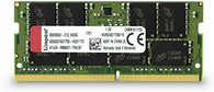 Kingston ValueRAM KVR24S17D8/16 DDR4-2400 SODIMM 16GB/2Gx64 CL17 Notebook Memory