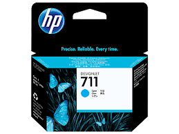 HP 711 - Cyan Orginal Ink Cartridge - 29 ml
