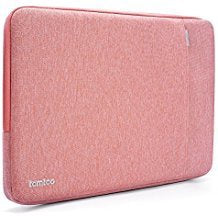 "Tomtoc 360° Protective Laptop Sleeve for 13"" New MacBook Pro2017 & 2016 - Pink"