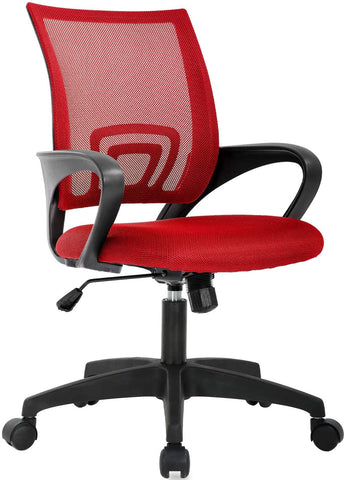Mid Back Ergonomic Mesh Chair w/ Lumbar Support