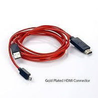 6FT Micro USB HDMI Cable for Samsung Galaxy S3
