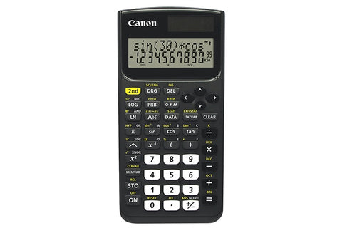 Canon F-730SX Scientific Solar Panel Calculator - 10 Digits + 2 Exponents