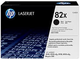 HP 82X High Yield Black Original LaserJet Toner Cartridge (C4182X)