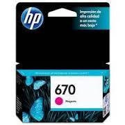 HP 670 Magenta Ink Cartridge