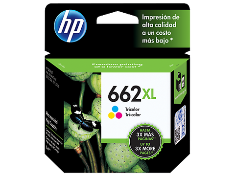 HP 662XL Tri-Colour Ink Cartridge 360 pages CZ106AL
