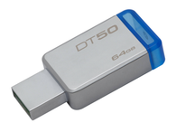 Kingston DataTraveler 50 64 GB USB 3.1 Flash Drive