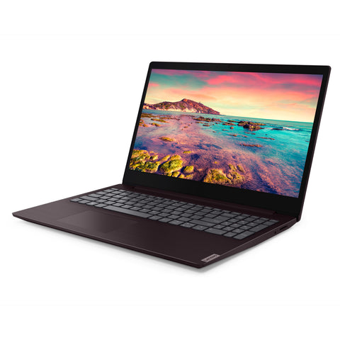 "Lenovo ideapad S145 15.6"" Intel Core i3-1005G1 1.2GHz Dual-Core Processor, 4GB RAM, 128GB SSD, Windows 10 S Mode - Dark Orchid"
