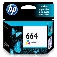 HP 664 Tri-Colour Ink Cartridge